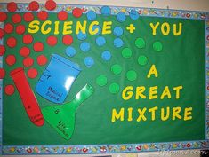 Science Bulletin Board Ideas . . . I have to have this one!!!