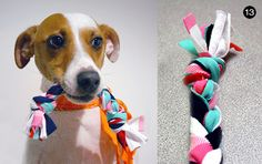 DIY T-Shirt Tug Toy // Easy DIY Gifts for Your Dog