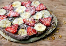 Recipe: Fruit Pizza with Chocolate-Coconut Cream