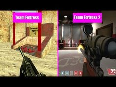 Team Fortress Classic Vs Team Fortress 2 Weapon Comparison #games #teamfortress2 #steam #tf2 #SteamNewRelease #gaming #Valve