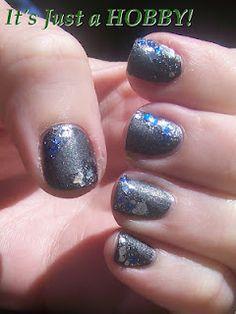 "China Glaze Stone Cold & Windestine Endangered ""Blue""Loons"