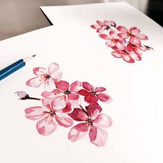 Chronic Ink Tattoo - Toronto Tattoo Some custom cherry blossoms done by Janice.