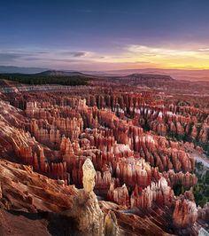 Bryce Canyon, États-Unis.