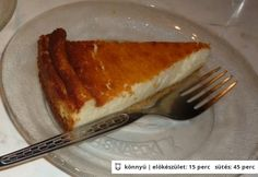 Olasz sajttorta Ricotta, French Toast, Breakfast, Tableware, Food, Morning Coffee, Dinnerware, Tablewares, Essen