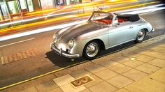 55' Porsche 356A...My future drive-only-when-sunny ride.  And yes, I first layed eyes on it in Paula Abdul's Rush, Rush video (w/one Keanu Reeves) lol