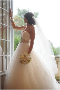 Fairytale wedding dress | Image by Stephanie Methven Photography