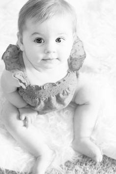 Abigail Emery 7 Months #baby #monthly #photography #babies #pictureideas
