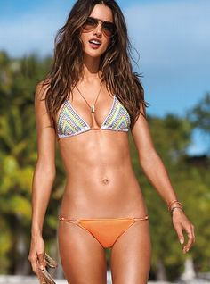 VS models typically look too thin/fake, but she looks feminine and strong.