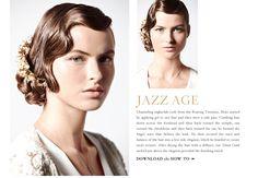 20s inspired hair