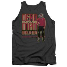 """Checkout our #LicensedGear products FREE SHIPPING + 10% OFF Coupon Code """"Official"""" Star Trek / Dead Man Walking - Adult Tank - Star Trek / Dead Man Walking - Adult Tank - Price: $29.99. Buy now at https://officiallylicensedgear.com/star-trek-dead-man-walking-adult-tank"""