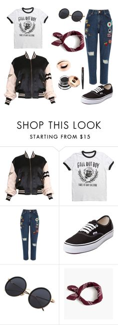 """Very good 😉"" by biancagramaje on Polyvore featuring Moschino, River Island, Vans and J.Crew"