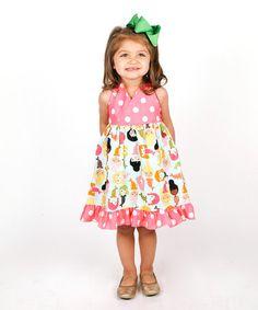 This Aqua Mermaids Halter Dress - Toddler & Girls is perfect! #zulilyfinds