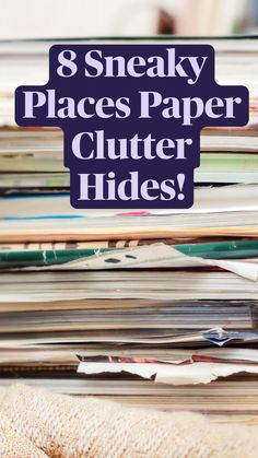 Organizing Paperwork, Paper Organization, Organized Mom, Getting Organized, Family Schedule, Paper Clutter, Family Organizer, Months In A Year, Cleaning Hacks