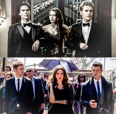 #TVD #TO The Vampire Diaries, The Originals Damon,Elena & Stefan / Klaus,Hayley & Elijah