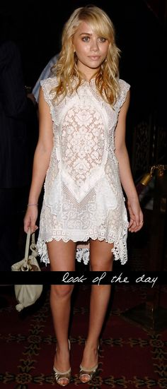 lace dress... perfection