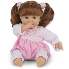 Melissa Doug Mine to Love Brianna 12-Inch Soft Body Baby Doll with... ❤ liked on Polyvore featuring toys