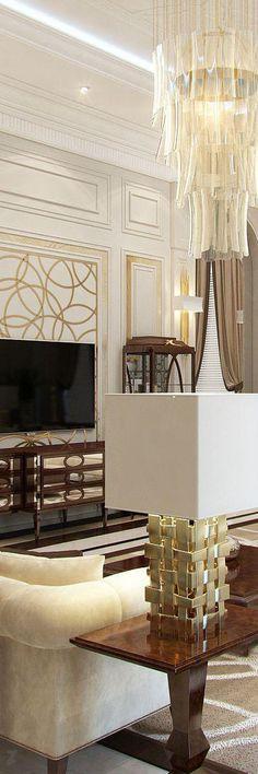 CLASSIC LIVING ROOM | Classic Living Room | bocadolobo.com/ #livingroomideas #livingroomdecor