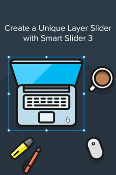 With a nice layer slider you can increase the visual appearance of your website. Create a layer slider with Smart Slider 3 for free without using any code. Sliders, Wordpress, Web Design, Coding, Website, Nice, Create, Blog, Design Web