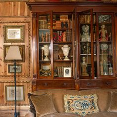 English bookcases