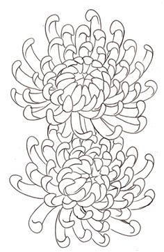 Crysanthemum tattoo