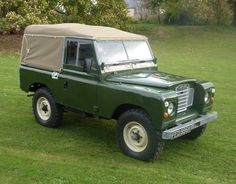 Image result for bronze green series land rover