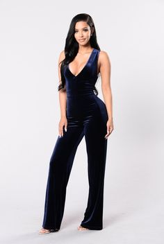 61fc140eb7e Take Me Higher Jumpsuit - Navy