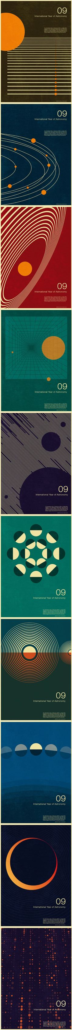 International Year of Astronomy print series, Simon C Page, 2009: