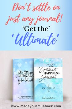 Why settle for just ordinary when you can have extraordinary! Get your Ultimate Happiness or Gratitude Journal Today! Bible Verses Quotes, Book Quotes, Life Quotes, Make You Smile, Are You Happy, Matching Quotes, How To Be More Organized, Mental Health Journal, Making A Vision Board