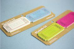 MochiThings.com: Ticket Sticky Note.   This online store is based out of Seattle.  They have cute stuff.