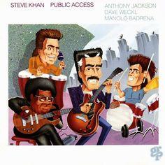 public access by steve khan  CD Jan-1990 grp  anthony jackson  dave weckl 1989
