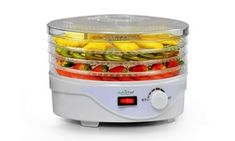 NutriChef Food Dehydrator Machine - Professional Electric Multi-Tier Food Preserver, Meat or Beef Jerky Maker, Fruit & Vegetable Dryer with 4 Stackable Trays - - Hobbies/Crafts Jerky Dehydrator, Dehydrator Recipes, Beef Jerky Maker, Food Shelf Life, Veggie Chips, Electric Foods, Specialty Appliances, Kitchen Appliances, Kitchen Countertops