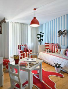 Design Chic: In Good Taste: Anna Cordeira Design - fun playroom