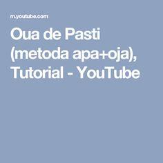Oua de Pasti (metoda apa+oja), Tutorial - YouTube
