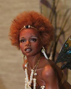 OOAK African Fairy Kiara by ~fairiesndreams on deviantART, beautiful!