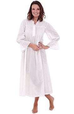 6a27ddedf9 Del Rossa Women s Romeo and Juliet Cotton Nightgown