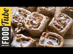 Maple Cinnamon Buns | For Mother's Day. - YouTube