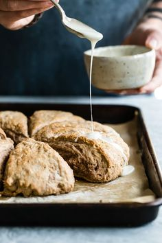 Light and fluffy Hot Chocolate Scones made with buttermilk and of course, hot chocolate!
