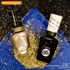 Not only is a glitter bomb the perfect April Fools' prank, it goes perfectly with the #MiracleGel Fired Up Metallics collection! Find a #MiracleMatch to go with your trick!