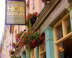 The Hobgoblin in Bristol, Gloucester Road. This is supposed to be amazing for burgers and 'Dirty fries' really want to go.