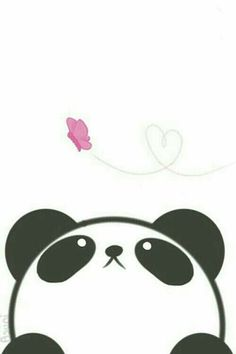 Imagen de panda, kawaii, and wallpaper: - Imagen de panda, kawaii, and wallpaper: La meilleure image selon vos envies sur diy crafts Vous cher - Panda Kawaii, Niedlicher Panda, Panda Art, Panda Love, Kawaii Cute, Panda Wallpapers, Cute Wallpapers, Desktop Wallpapers, Kawaii Drawings