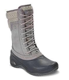 The North Face Womens Shellista II Mid Boot Frost GreyEvening Sand Pink 85  -- Check. ZapatosBotas De Invierno Para HombreBotas ... f1a0b10a4b9b9