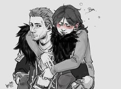 Drunken Quizzie likes to be carried around by her Commander~