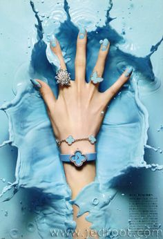 Jed Root - Manicurists - Hiro - Beauty - Harper's Bazaar Japan, Kanji Ishii