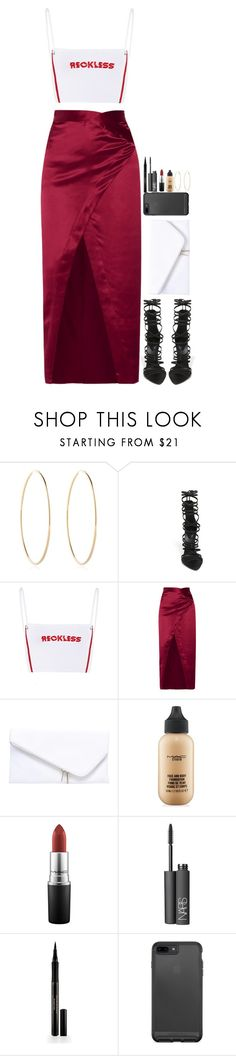 """ Reckless "" by destiniet ❤ liked on Polyvore featuring Maria Francesca Pepe, Giuseppe Zanotti, Michelle Mason, Miss KG, MAC Cosmetics, NARS Cosmetics and Elizabeth Arden"