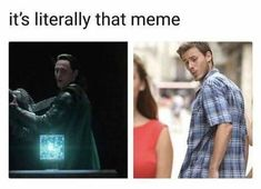 It's literally that meme | Loki from Thor Ragnarok | memes