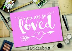 Printable wall art. Available as a download or print in different sizes. #printables #printableart #printathome #prints #digitaldownload #love #youaresoloved