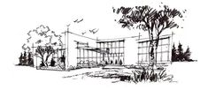 Landscape Architecture Drawing, Architecture Sketchbook, Perspective Sketch, Diagram, Drawings, Beautiful, Architects, Ipad, Architecture