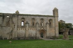 Glastonbury Abbey  Lady Chapel