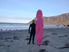Fredrik/Norway - Dresscode for surfing in Norway