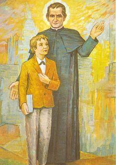 Diy Clothes Videos, Bible, Snoopy, Faith, Painting, St John Bosco, Religious Pictures, Dios, Biblia